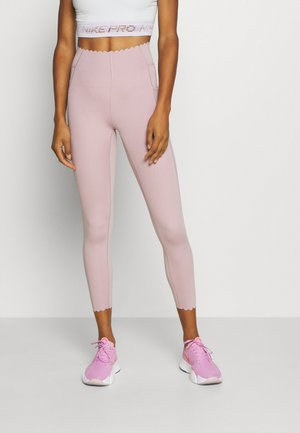 SCALLOP HEM 7/8  - Leggings - old rose