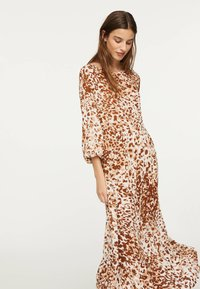 OYSHO - Maxi-jurk - brown - 3