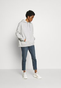 Nly by Nelly - OVERSIZED HOODIE - Hoodie - grey melange - 1