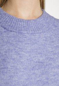 Monki - Jumper dress - blue solid - 5