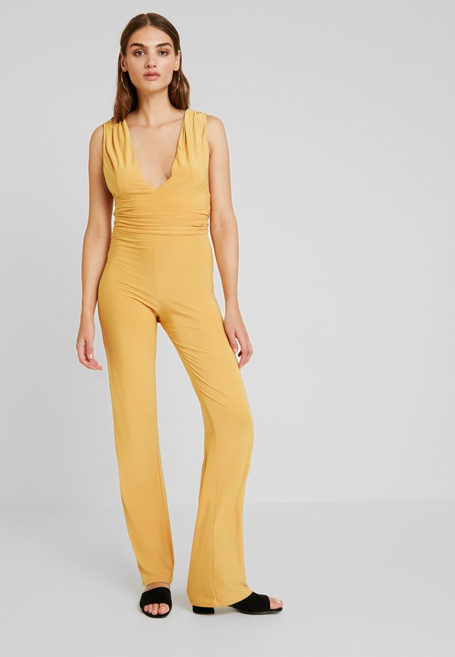 Jumpsuit - yellow