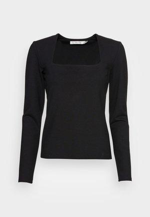 MALBA TEE - Long sleeved top - black