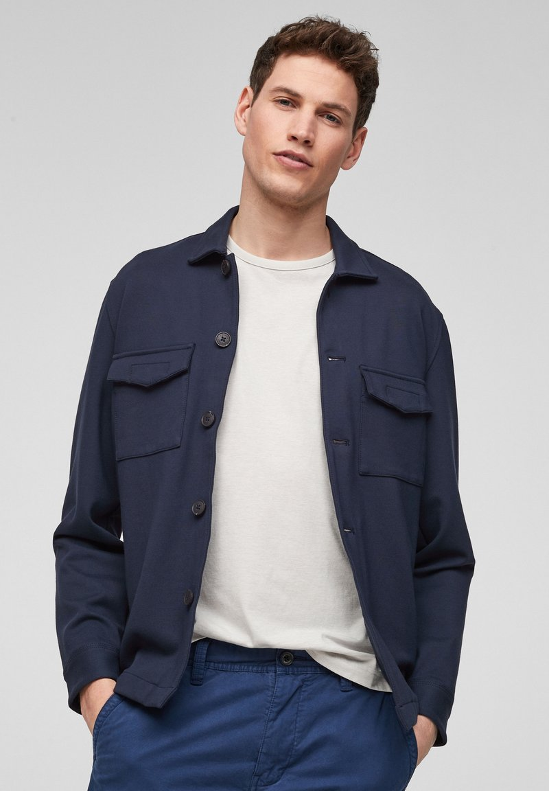 s.Oliver - Summer jacket - dark blue