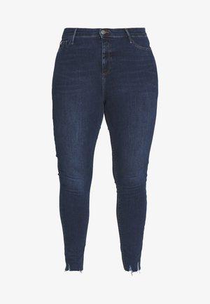 PLUSMOLLY TUSCANY MID RISE - Jeans Skinny Fit - blue denim