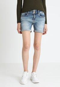 LTB - BECKY - Denim shorts - lewa wash - 0