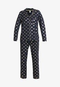 Chelsea Peers - BEE LONG SET - Pyžamová sada - navy/gold - 4