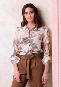 Alba Moda - Button-down blouse - rosé braun - 4