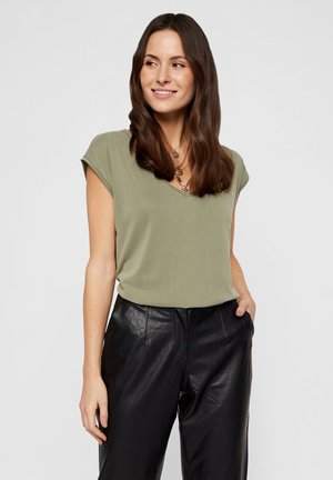 PCKAMALA - T-shirt basique - deep lichen green