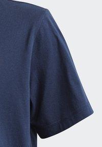 adidas Originals - ADICOLOR CLASSICS 3-STRIPES LONG SLEEVE TEE - T-shirts print - collegiate navy - 3