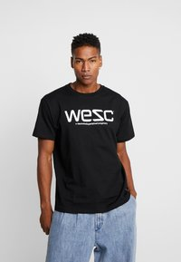 WeSC - Print T-shirt - black - 0