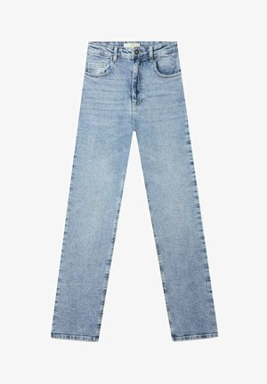 IM VINTAGELOOK  - Slim fit jeans - light blue