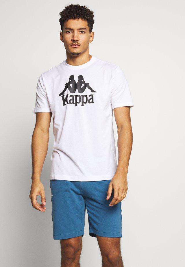 CASPAR - Print T-shirt - bright white