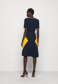 Steffen Schraut - PARIS PLEATED DRESS - Day dress - navy sun - 2