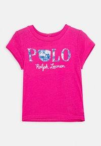 Polo Ralph Lauren - TEE - T-shirt imprimé - college pink - 0