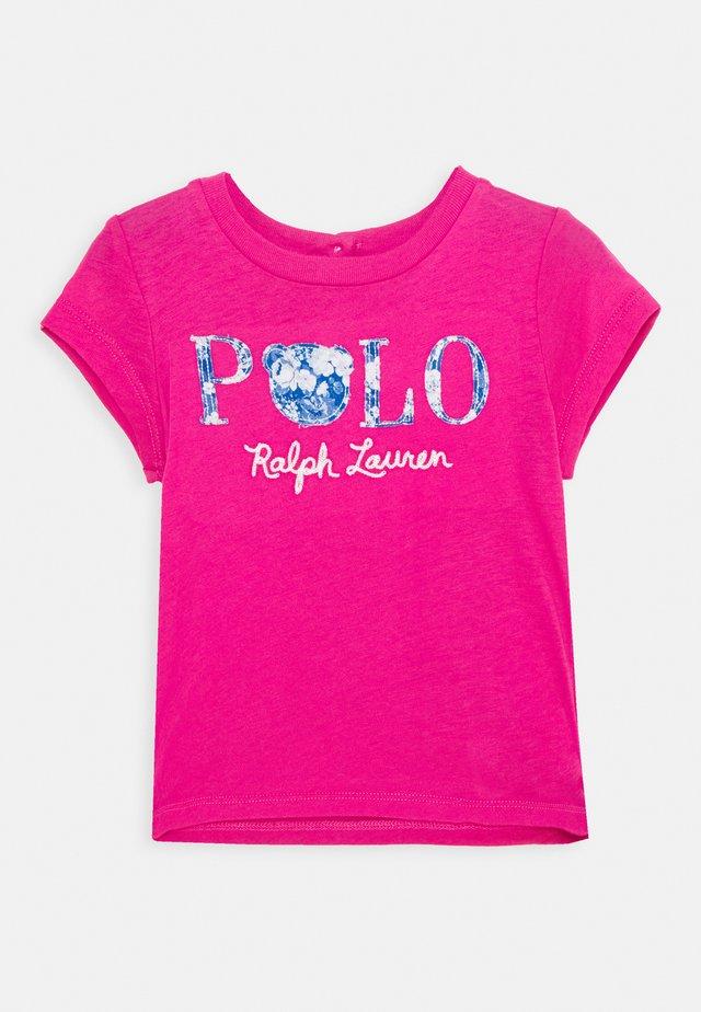TEE - Camiseta estampada - college pink