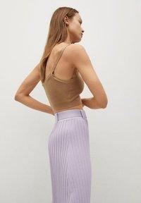 Mango - KATYA - A-line skirt - lys/pastell lilla - 3