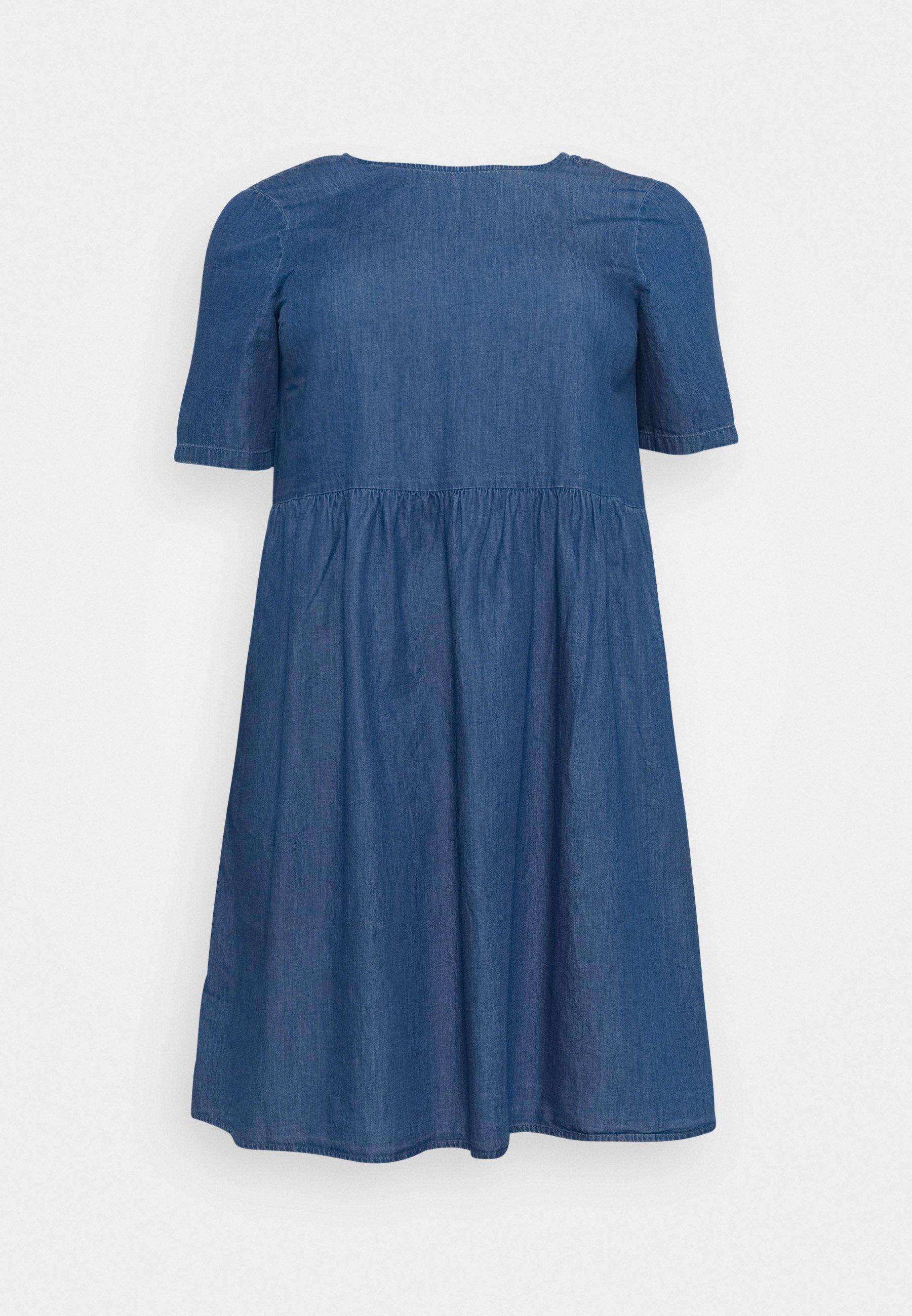Femme PCLIVA DRESS - Robe en jean