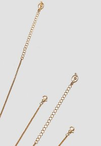 Stradivarius - 4 SET - Halskette - gold-coloured