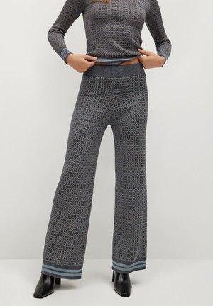 NICO - Trousers - himmelblå