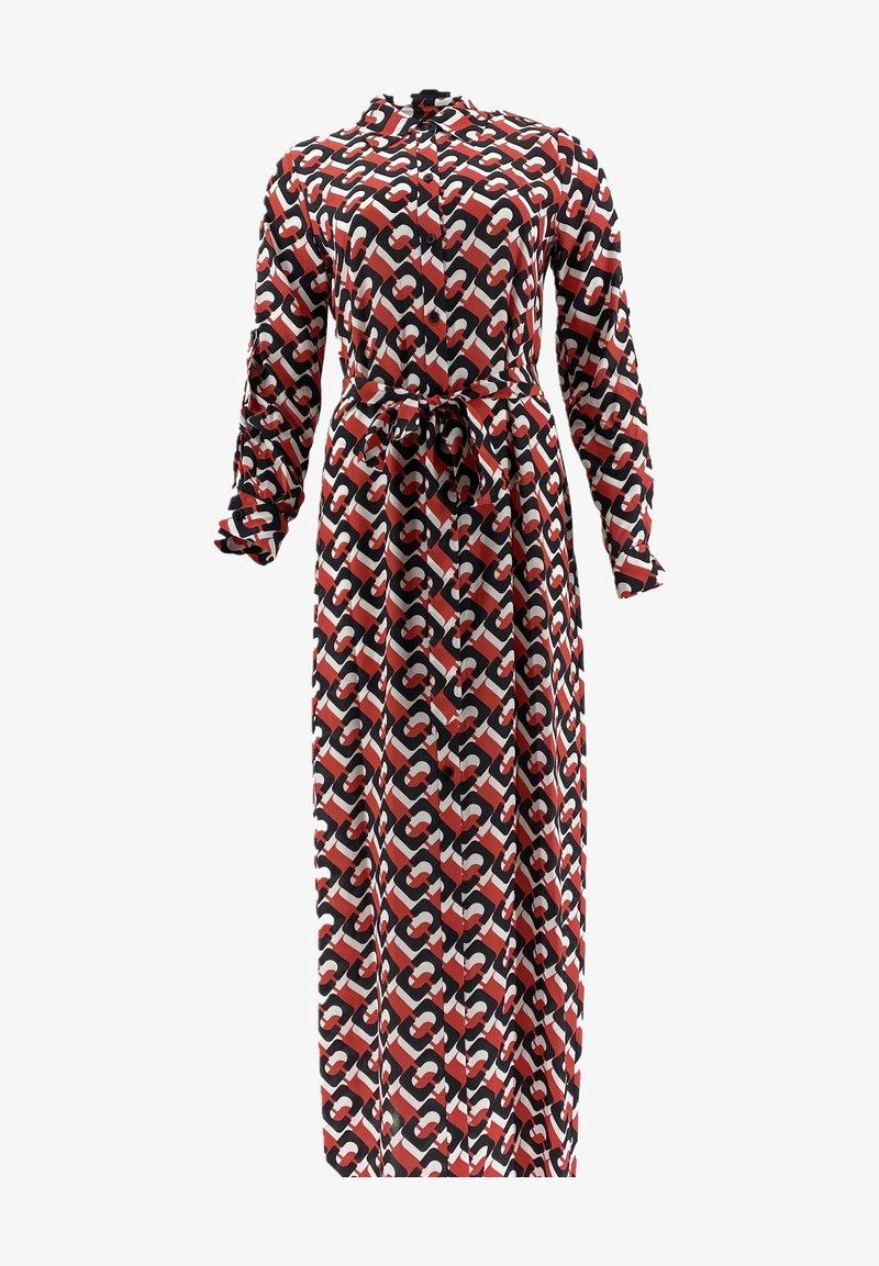 Diane von Furstenberg - AMINA CHAIN - Maxi dress - red