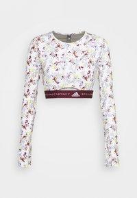 adidas by Stella McCartney - CROP - Camiseta de manga larga - white - 0