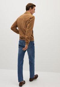 Mango - BONE-I - Leather jacket - beige - 2