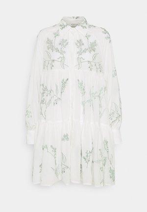 ALEXIA DRESS - Abito a camicia - white