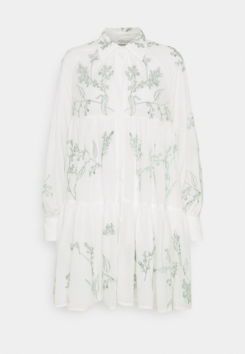 By Malina - ALEXIA DRESS - Shirt dress - white