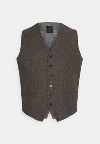 Shelby & Sons - PERRY WAISTCOAT PLUS - Waistcoat - brown - 0