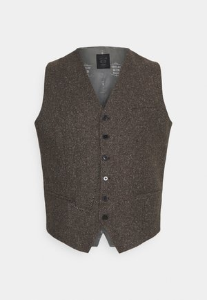 PERRY WAISTCOAT PLUS - Smanicato - brown