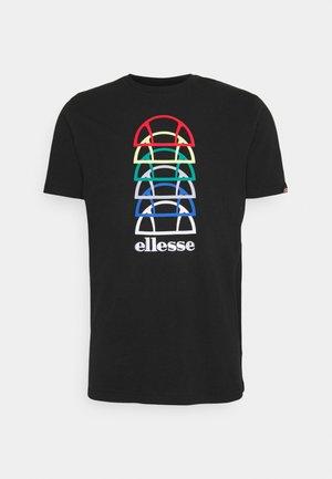 MAGARIO TEE - Print T-shirt - black