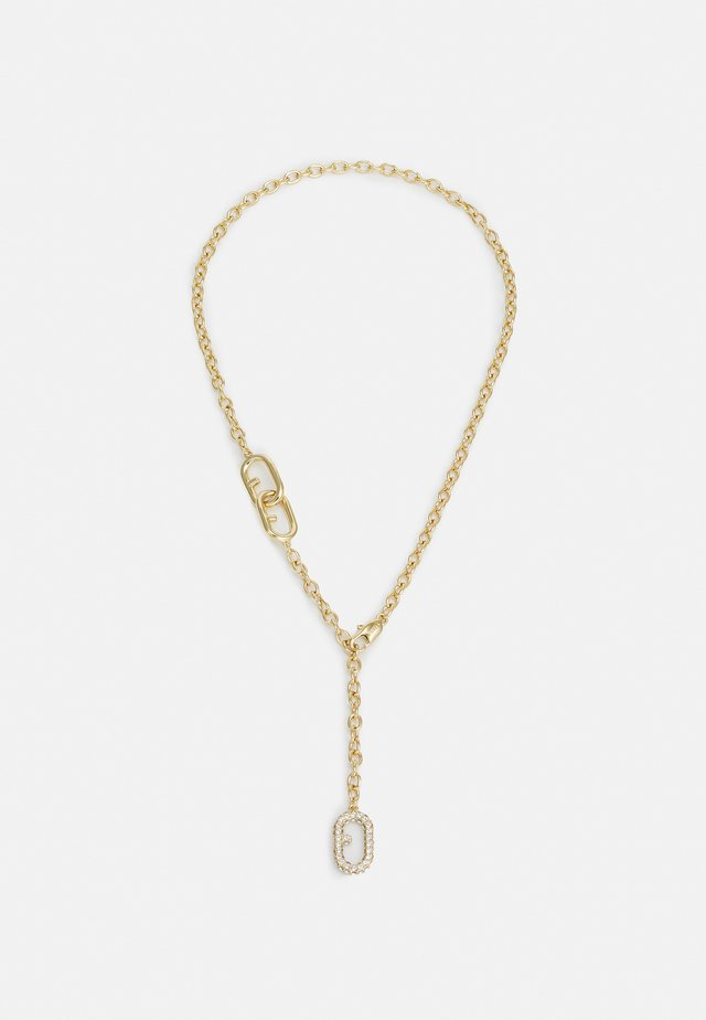 PAVE NECKLACE - Collier - gold-coloured