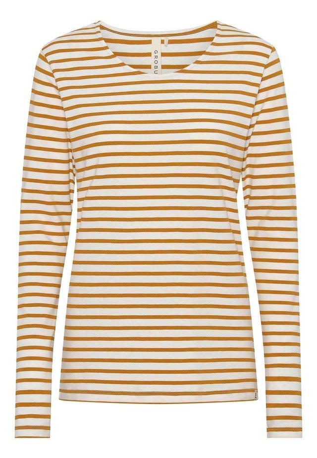 MULLE - Langærmede T-shirts - yellow