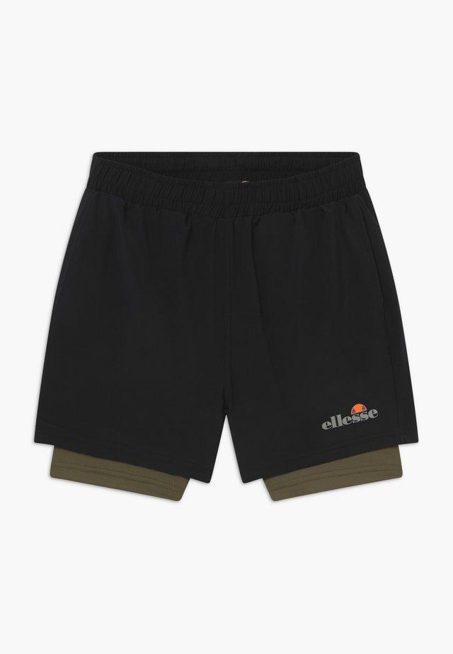 LUPIA 2-IN-1 - Short de sport - black