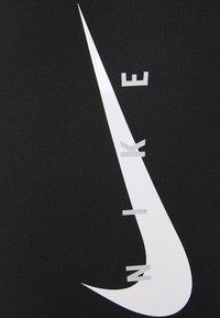 "Nike Performance - RUN TIGHT SHORT 7"" PLUS - Tights - black/reflective silver - 2"