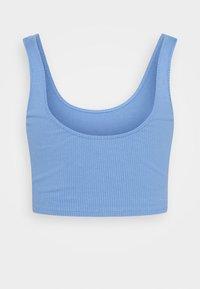 Gina Tricot - MIRANDA TANK 2 PACK - Topper - blue bonnet/pastel lavender - 3