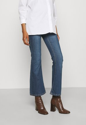 SENNA - Flared Jeans - authentic blue