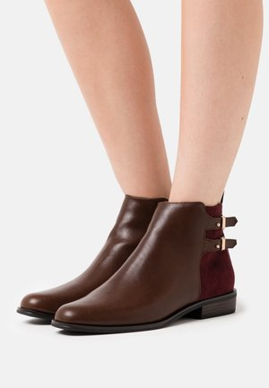 Ankelboots - dark brown