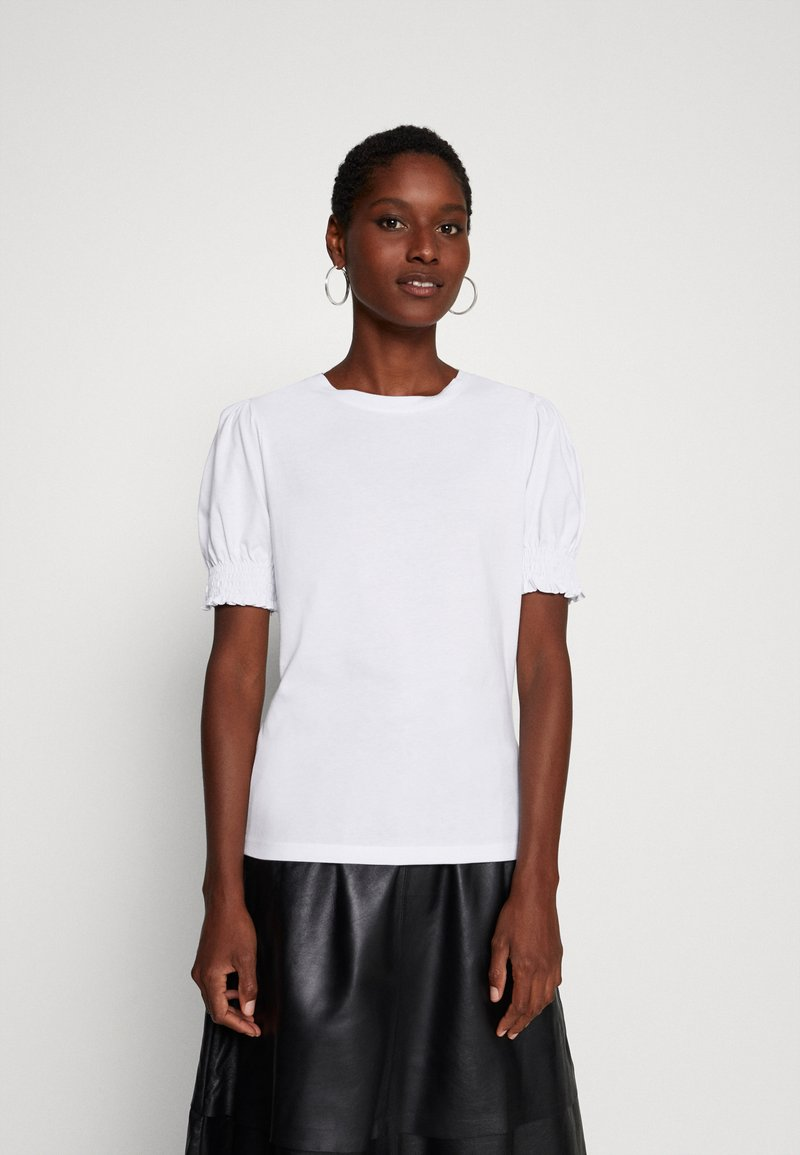 Anna Field - Basic T-shirt - white