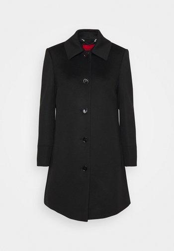JET - Klasický kabát - black