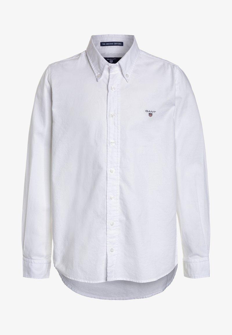 GANT - ARCHIVE OXFORD  - Shirt - white