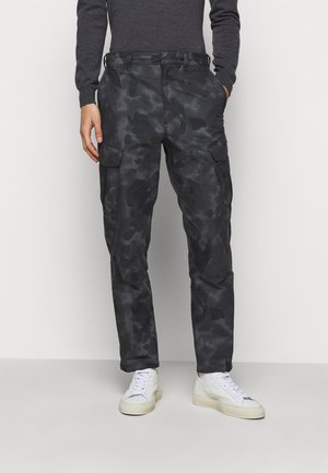 CAMO CORBIN  - Cargo trousers - grey/black