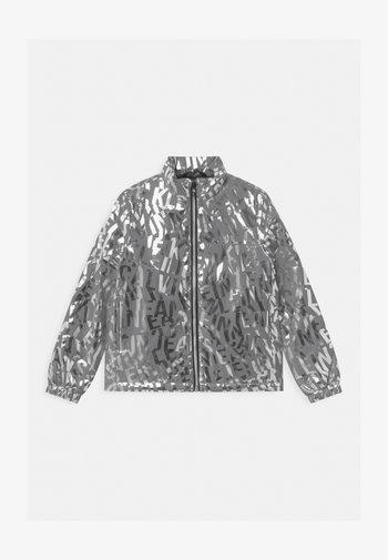 LOGO  - Light jacket - silver