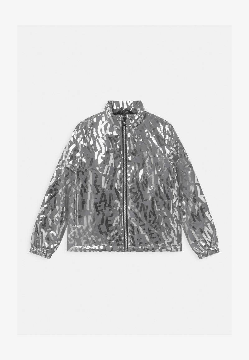 Calvin Klein Jeans - LOGO  - Light jacket - silver