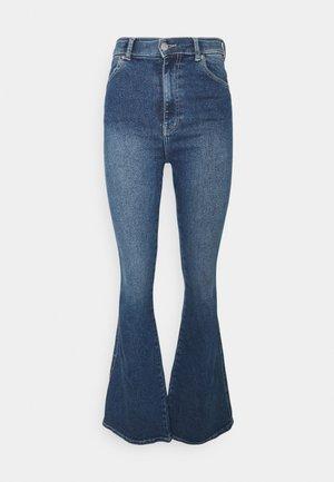 MOXY - Flared Jeans - breeze dark stone