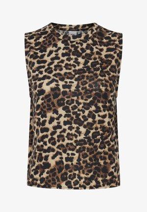 IXANNIE - Top - black leopard