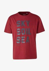 bordeaux sky print