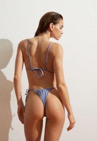 OYSHO - BRAZILIAN SLIDE - Bikini bottoms - light blue - 2
