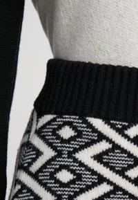 See by Chloé - A-line skirt - white/black - 4