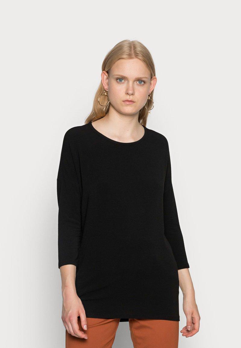 ONLY - ONLGLAMOUR - Topper langermet - black